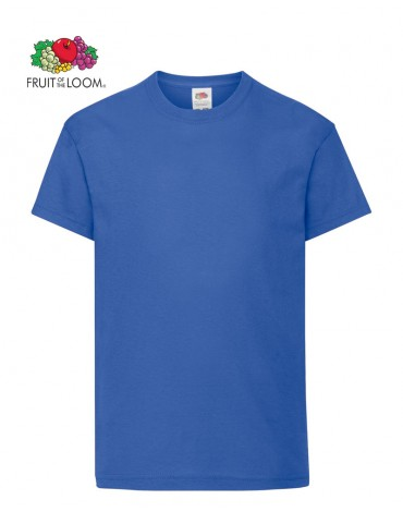 T-Shirt Cotone 100% Fruit of the Loom Original